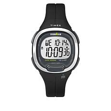 Timex Women's Ironman Transit Essential 10 Black Resin Strap Watch
