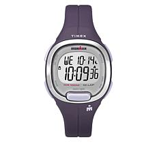 Timex Women's Ironman Transit Essential 10 Purple Resin Strap Watch