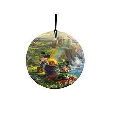 TK Disney Mickey and Minnie in Ireland Hanging Glass StarFire Print