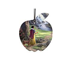 TK Disney Shaped Acrylic Hanging Print - Snow White Discovers Cottage