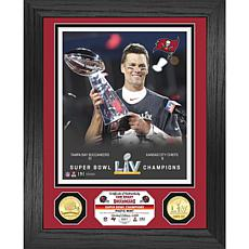 Tom Brady  Super Bowl LV Champions Trophy Bronze Coin Photo Mint