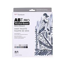 Tombow ABT PRO Set Art Markers 12-pack - Gray