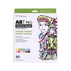 Tombow ABT PRO Set Art Markers 12-pack - Manga
