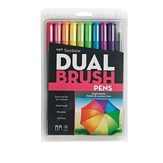Tombow Dual Brush Pen 10-pack - Brights