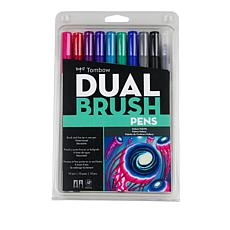 Tombow Dual Brush Pen 10-pack - Galaxy