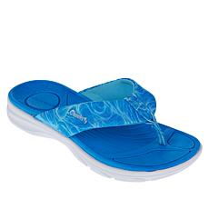 Tony Little Cheeks® Cushys Thong Sandal