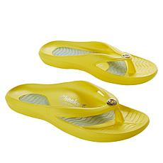 Tony Little Cheeks Health Sandal with Gel Footbed