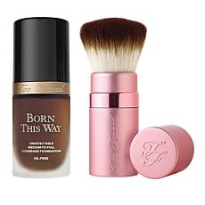 Too Faced Ganache Forever Flawless Foundation and Brush Set