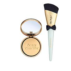 Too Faced Shortbread Born This Way Foundation Powder with Brush