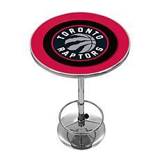 Toronto Raptors NBA Chrome Pub Table