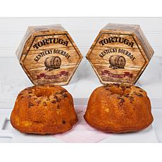 Tortuga 16 oz. Kentucky Bourbon Butter Cake 2-pack