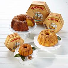 Tortuga 3-piece Original Golden Rum Cake Tower