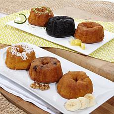 Tortuga 6-piece Rum Cake Gift Set - Receive in December