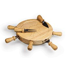 Toscana by Picnic Time Mariner Cheese Board (Rubberwood)
