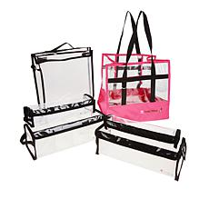 Totally Tiffany Buddy Bag Craft and Go 6-piece Bundle - Pink