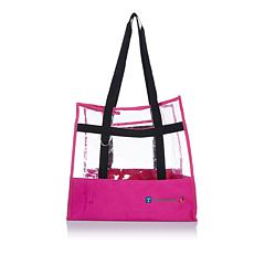 Totally-Tiffany Lois Clear Storage Tote Bag