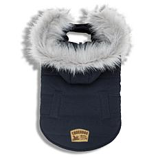 Touchdog Eskimo-Swag Duck-Down Parka Dog Coat