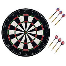 Trademark Games Pro Style Bristle Dart Board Set