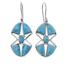 Traveler's Journey Larimar Star Earrings