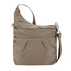 "Travelon Anti-Theft Signature 3-Compartment Crossbody Bag 13.75""x11.5"""