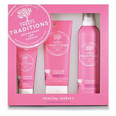 Treets Traditions Relaxing 3-piece Gift Set
