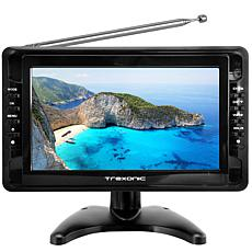 "Trexonic Ultra Lightweight Rechargeable Widescreen 10"" Portable LCD..."