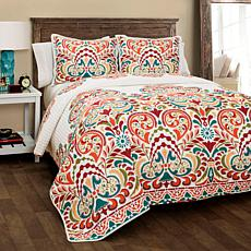 Triangle Home Fashions Clara Quilt 3-Piece Set - Full/Queen