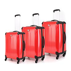 Triforce Luggage Apex #101 3pc Hardside Spinner Luggage