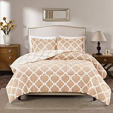 True North Peyton Reversible Tan Comforter Set - King