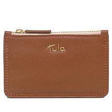 Tula England Originals Leather Small Zip-Top Coin Purse