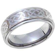 Tungsten Celtic Knot Design 8mm Wedding Band