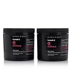 Tweak-d Dhatelo Restore Cleansing Hair Treatment BOGO