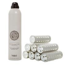 Tweak-d Tame'd Bye Bye Frizz Mist with Hair Rollers Set - Small