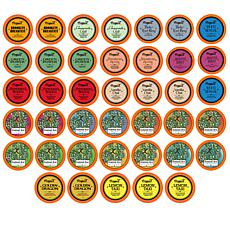 Two Rivers Assorted Tea Sampler Pack 40 Count
