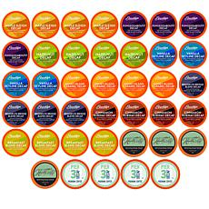 Two Rivers Coffee Decaf Pods Variety Pack - 40-Count