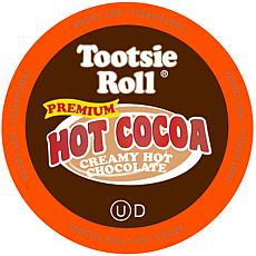 Two Rivers Coffee Tootsie Roll Hot Cocoa K-Cups 12-Count 6-Pack