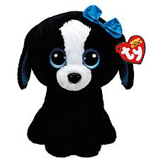 Ty Beanie Boos Tracy Black and White Dog