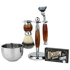 Union Razor Gift Set - Tiger Eye