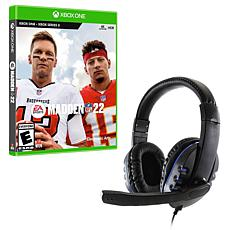 Universal Wired Gaming Headset w/Madden NFL 22 for Xbox Series S & X