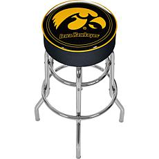University of Iowa Padded Bar Stool