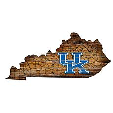 University of Kentucky Distressed State with Logo