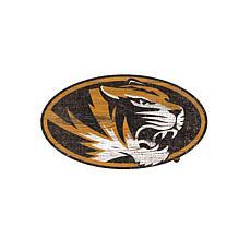University of Missouri Distressed Logo Cutout Sign
