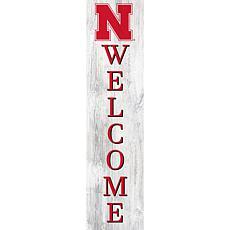 """University of Nebraska 48"""" Welcome Leaner"""