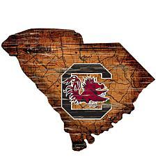 University of South Carolina Distressed State with Logo