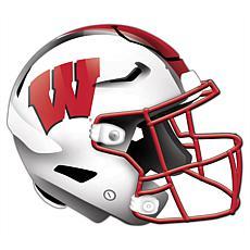 University of Wisconsin Helmet Cutout