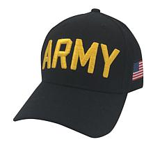 U.S. Army Adjustable Cap with U.S. Flag Side Patch