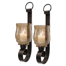 Uttermost Joselyn Small Wall Sconces - Set of 2