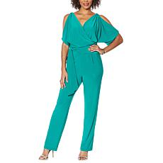 Vanessa Williams Open Shoulder Jumpsuit