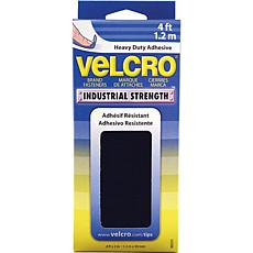 VELCRO® Industrial Strength Tape - 4' - Black