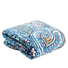 Vera Bradley Plush Paisley Throw Blanket